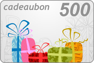 Cadeaubon 500 euro