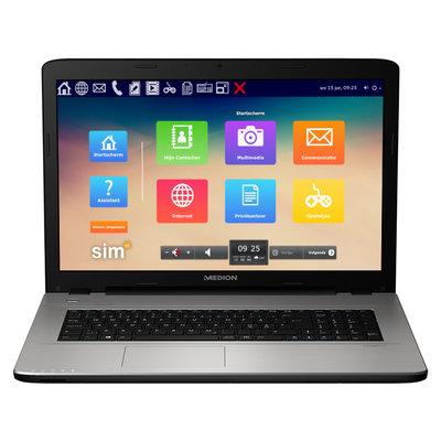 Seniorencomputer - SimTop - Super eenvoudig en veilig