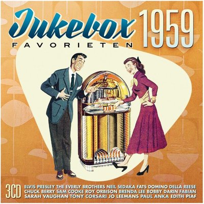 CD - Jukebox favorieten 1959