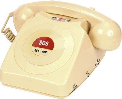 Seniorentelefoon - Geemarc - CL64 Telefoon met Alarmknop