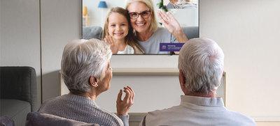 Femly - beeldbellen via de televisie