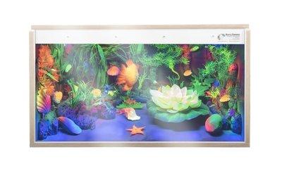 Aquarium met Blacklight (100 x 40 x 65 cm)