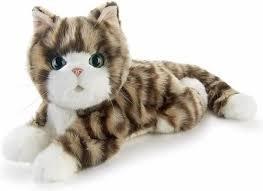 Knuffeldieren - Interactieve robot kat - Speciaal voor ouderen - Kitten