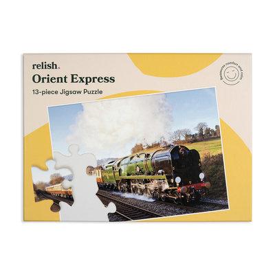 Puzzel - Oriënt Express - 13 puzzelstukken - Jigsaw Puzzles