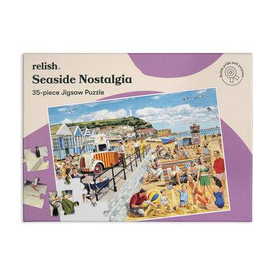 Puzzel - Aan de kust - 35 puzzelstukken - Jigsaw Puzzles