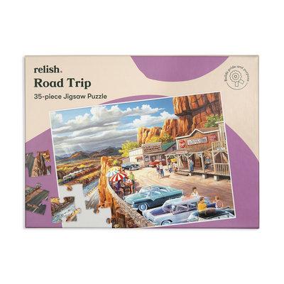 Puzzel - Road Trip - 35 puzzelstukken- Jigsaw Puzzles