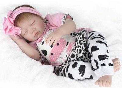 Pop - Reborn Babypop - Meisje slaapt