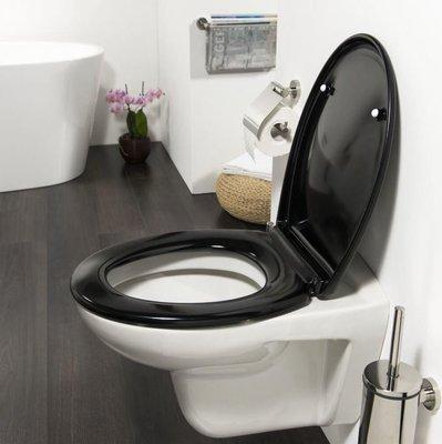 Toiletbril - Goed zichtbaar - kleur zwart