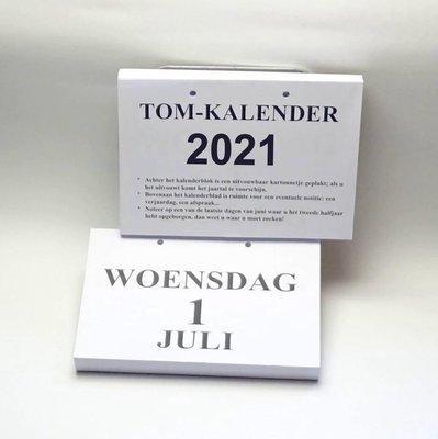 Groot-letter A4 dagkalender 2021