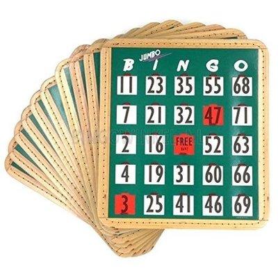 Bingo schuifplank 1-75 XL (set van 10 stuks)