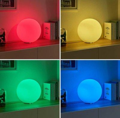 Snoezel lamp - Rhona bol - met veranderende kleuren en afstandsbediening