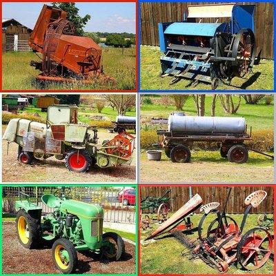 *Puzzel - Combipakket 6 puzzels - 6 XXL stukjes - Landbouwwerktuigen