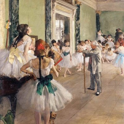 Puzzel - 50 XL stukjes - Degas - Dansles ballet