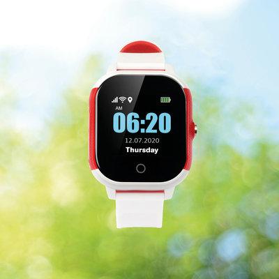 Wuzzi Alert 'Horloge Indi' - mobiel gps alarm voor binnen en buiten.