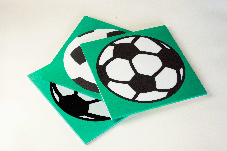 *Puzzel - Combipakket 3 puzzels - 3, 8 en 16 stukjes - Voetbal