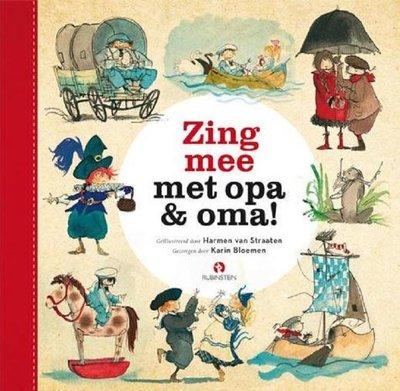 CD en boek - Zing mee met opa & oma
