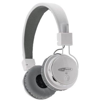 Draadloze koptelefoon – CALIBER MAC501BT/B wit