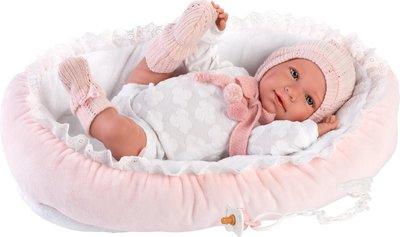 Pop - Reborn Babypop - met mand en speen