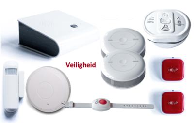 Basispakket Zorg & Veiligheid | Casenio slimme sensoren