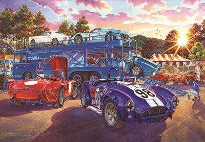 Puzzel - 260 XL stukjes - Vrachtwagen en Racewagens