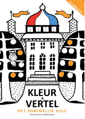Kleurboek en Vertelboek 'Het Koninklijk Huis' | inclusief metallic stiften