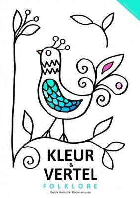 Kleurboek en Vertelboek 'Folklore'