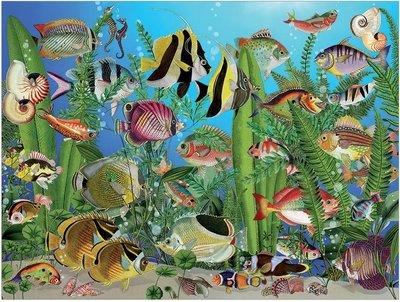 Puzzel - 275 XL stukjes - Aquarium