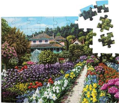 Puzzel - 63 XL stukjes - Monet's tuin