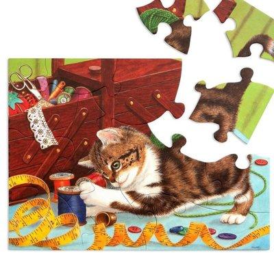 Puzzel - 13 XXL stukjes - Het leven van een Kitten