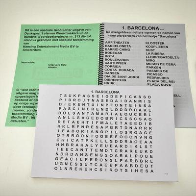 Grootletter woordzoeker - XL | Puzzelboek
