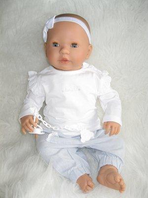 Pop - Babypop - meisje met slaapogen en speen