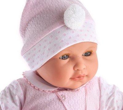 Pop - Babypop -  Meisje met speen, maakt geluidjes