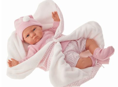 Pop - Babypop -  Meisje met deken