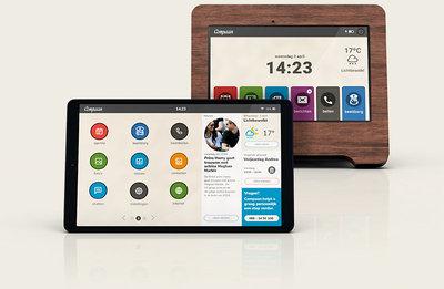 Compaan - Tablet en App - speciaal aanbod voor gemeentes en zorginstellingen.