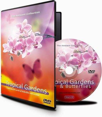 DVD Tropische tuinen en vlinders