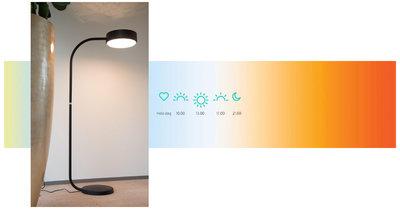 Biodynamisch licht - Sparckel lamp - Bright Brenda