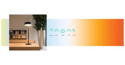 Biodynamisch licht - Sparckel lamp - Jolly James