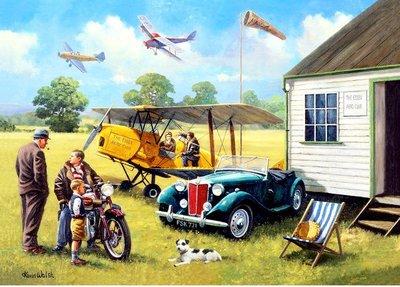 Puzzel - 100 XXL stukjes - De vliegclub
