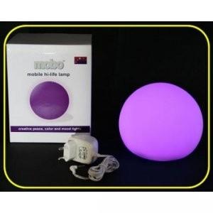 Gloeibol - verandert geleidelijk van kleur - ø 15 cm incl. transformator