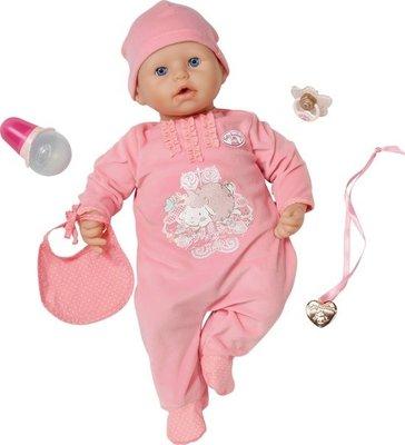 Babypop die geluidjes maakt