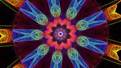DVD De ontspannende kracht van kleur - Kaleidoskoop
