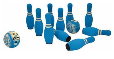 Spel - Kegelspel soft blauw