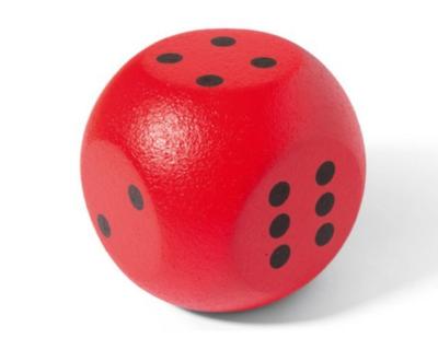 Spel - VOLLEY® Dobbelsteen met coating 21 cm