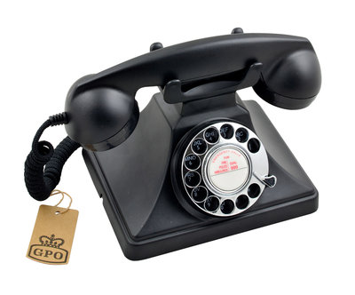 Seniorentelefoon - Nostalgisch - Klassiek jaren '50 ontwerp - GPO 200 met draaischijf