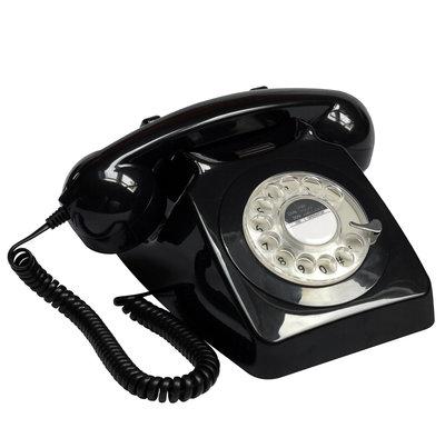 Seniorentelefoon - Nostalgisch - Klassiek jaren '70 ontwerp - GPO 746 (vier kleuren)