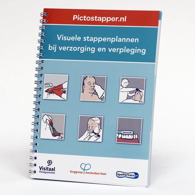 Pictostapper - visuele stappenplannen voor 24 dagelijkse zorghandelingen
