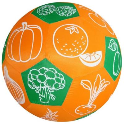 Speelbal groenten en fruit