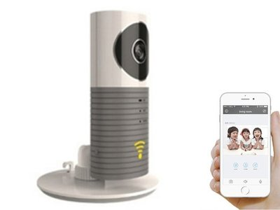 Op afstand observeren en communiceren - Cleverdog Wifi security camera