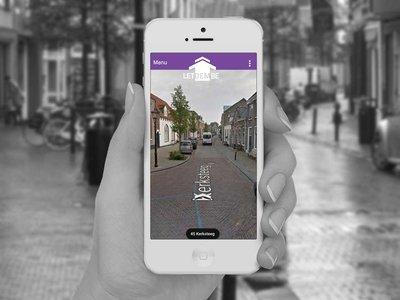 Buiten vrij en veilig op pad | LetDemBe - App waarmee je iemand op afstand de weg naar huis kunt wijzen