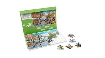 Puzzel - Herfstmarkt - 35 grote puzzelstukken - Jigsaw Puzzles